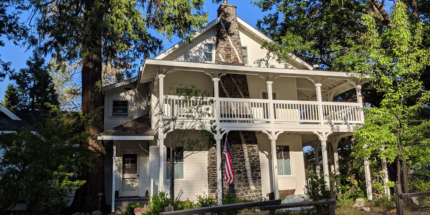 WELCOME TO THE HISTORIC INN AT THE SUGAR PINE RANCH