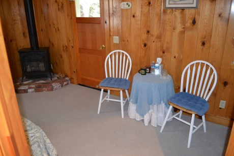 The Inn at Sugar Pine Ranch - Seating Area in Cottage #3